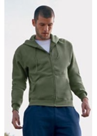 Fruit of the Loom SS222 Zip through hoodieshirt