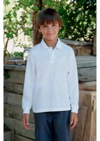 Fruit of the Loom SS320 Kid's  65/35 polo