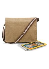 Quadra QD610 Desert canvas despatch bag