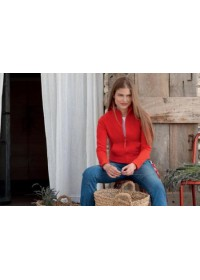 Fruit of the Loom SS002 Lady-fit sweat jacket