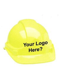 Safety helmet hard hat logo stickers