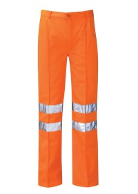 Orange Hi Vis Work Trousers