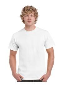 Cotton White T Shirt Gildan 5000 Heavy