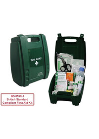 BS8599 1 compliant First Aid Kit