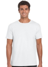 Gildan GD001,Softstyle Tee Shirt WHITE