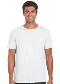 Gildan GD001,Softstyle Tee Shirt WHITE