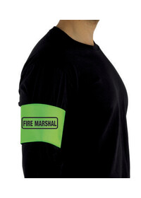 Fire Marshal printed Arm Band