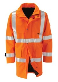 Gore Tex Orange Hi Vis Coat