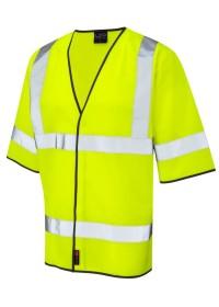 Short Sleeve Hi Vis vest