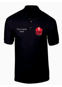 Electric Safe Register Embroidered Polo Shirt