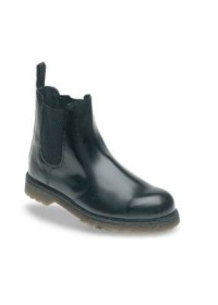 Safety Dealer Boot with Air Cushioned PVC Sole,