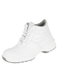 White Microfibre Lace Boot , HIMALAYAN-9952,