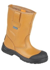 HyGrip Safety Warm Lined Rigger Boot and Scuff Cap  , HIMALAYAN-9102,