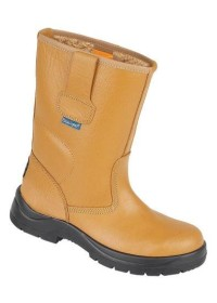 HyGrip Safety Warm Lined Rigger Boot  , HIMALAYAN-9101,