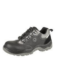 Black Non - Metallic Safety Shoe, SECURITYLINE-4117,