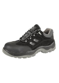 Black Non - Metallic Safety Shoe, SECURITYLINE-4115,