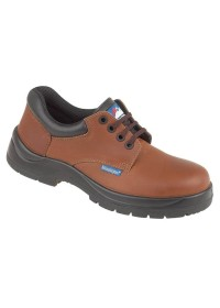 Brown HyGrip Safety Shoe Metal Free, HIMALAYAN-5118,