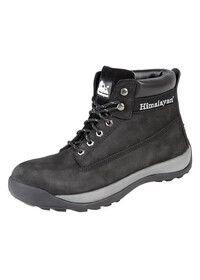 Black Nubuck Iconic Boot with Midsole , HIMALAYAN-5140,