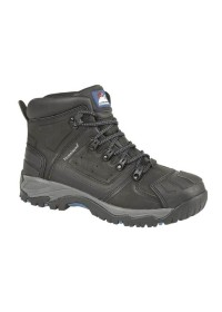 Black Waterproof S3 Safety Boot, HIMALAYAN-5206,