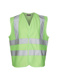 Childrens Lime Green Hi Vis Vest