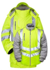 Pulsar 7 in 1 Interactive Hi Vis Coat P487