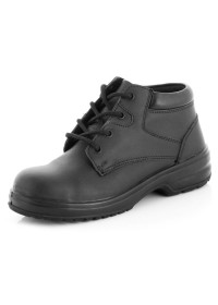 Ladies lace up safety boot