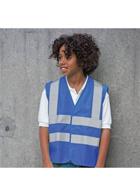 Childrens Blue Hi Vis Vest