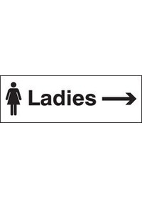 Ladies arrow right sign