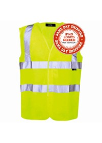 Yellow Hi Vis Safety Vest en471