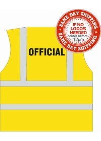 Hi Vis vest Printed with OFFICIAL