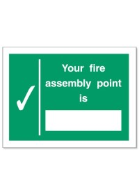 Your assembly point is sign