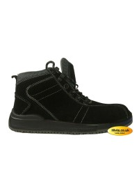 Safety Toe Cap Boot Composite Midosloe And Toe Cap Black