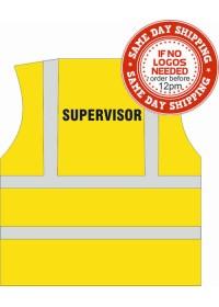 Supervisor Printed Hi Vis Vest