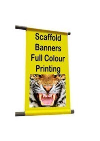 Scaffolding Banner 1m x1m PVC