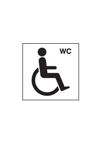 Disabled wc symbol sign