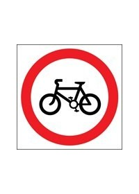 Cycles sign