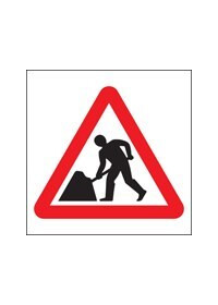 Men at work symbol sign