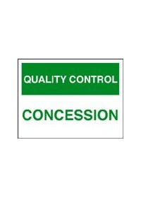 QC concession sign