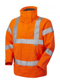 Ladies Breathable Hivis Jacket Leo JL04
