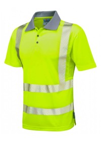 Leo Coolviz  Hivis Polo Shirt P03