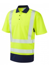 Leo Coolviz Two Tone Hivis Polo Shirt P11
