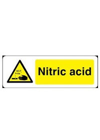 Nitric acid sign
