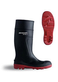 Safety Wellington with Steel Midsole & Toe cap Dunlop