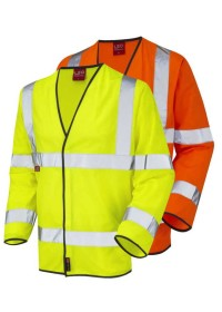 Hi Vis Flame flame retardant Long Sleeve Vest