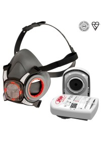 JSP Force 8 Half Mask & Press to check filters