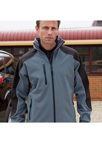 Result R118A Ice fell 3 layer softshell jacket