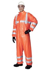 Disposable Tyvek 500 Hi Vis Coverall