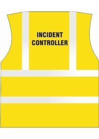 Incident Controller Printed Hi Vis Vest