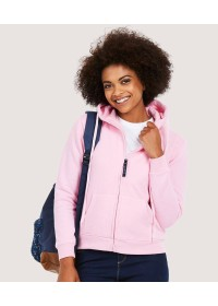 Uneek UC505 Ladies Classic Full Zip Hooded Sweatshirt