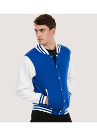 Uneek UC525 Mens Varsity Jacket